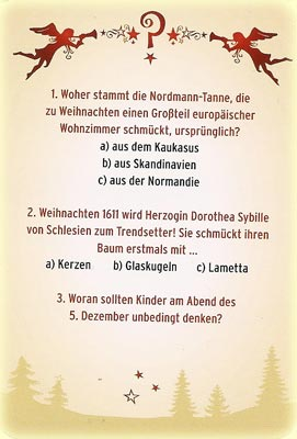 h ll9000 rezension kritik spiel das weihnachts quiz 9743. Black Bedroom Furniture Sets. Home Design Ideas
