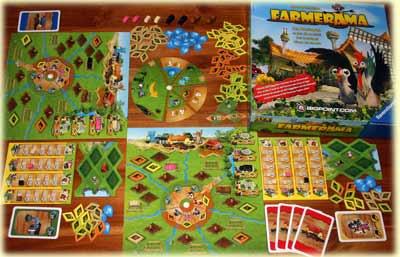 Farmerama Brettspiel