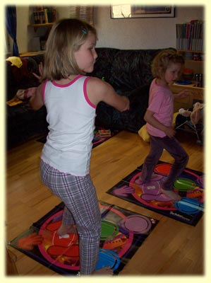 Twister Dance Spiel