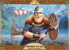 Wikinger 878 A.D. – Angriff auf England  / Vikings – Invasions of England