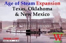 Age of Steam Expansion: Texas, Oklahoma & New Mexico