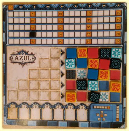 Azul Spiel