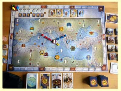 Pantheon Spiel